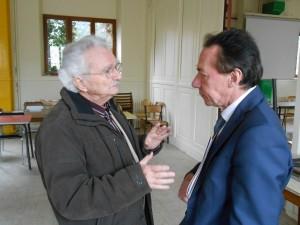 Claude CAYSSIALS et Denis MAZODIER, 13 avril 2013. © BM/CAD.