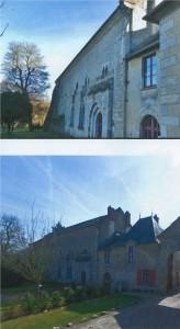 L'abbaye de l'Ouÿe. © FAVO, Lucien CAUVIN.