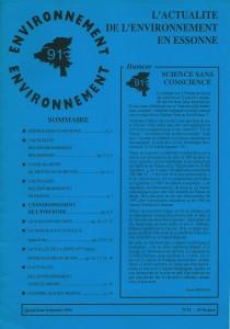 Environnement 91 - n11 - 1994 p.1