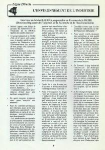 Environnement 91 - n11 - 1994 p.8