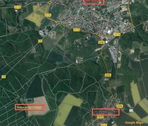 Les Granges-le-Roi Google Maps