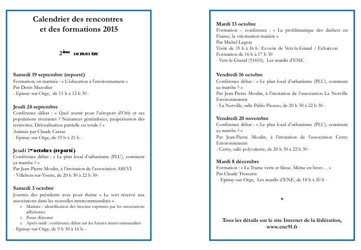 RENCONTRES ENE 2