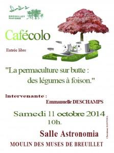 Cafecolo 11 octobre 2014