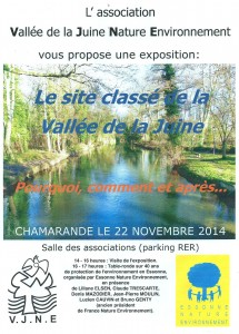 Table-ronde sur 40 ans de protection de l'environnement en Essonne, ENE, 22 novembre 2014 à Chamarande