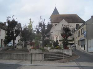 Eglise de Breuillet en 2014. © JPM.