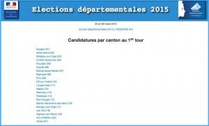ELECTIONS DEPARTEMENTALES 2015 SI MI