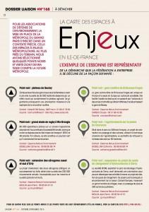 Liaison 168 - dossier Cop21 page Essonne
